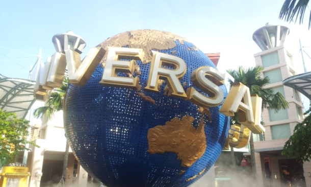 Universal Theme Park in Singapore