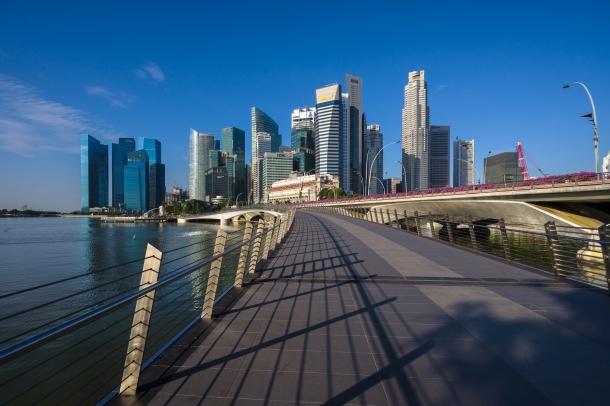 The Amazing Skyline of Singapore