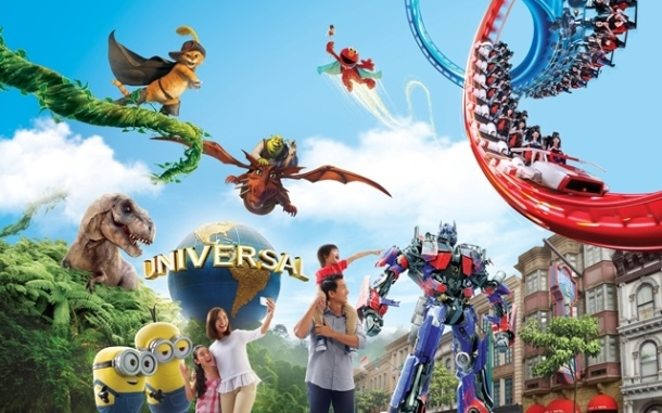 Have an action packed day at USS Universal Studios