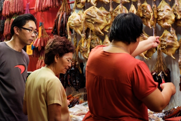 People indulge in some lipsmacking street food in Singapore